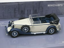 MAYBACH ZEPPELIN 1932 WHITE BLUE BLAU WEISS L. E. 528 PMA 436039408 1/43 NEW OVP