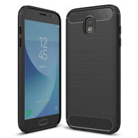 Custodia CARBON DESIGN slim sottile flessibile per Samsung Galaxy J7 2017 J730