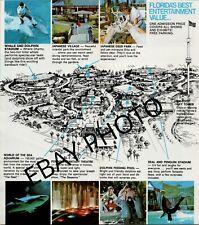 Vintage Sea World Brochure 1976 Yankee Doodle Whale - B1