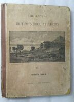 1894 The Annual of the British School At Athens No.1 Edition England