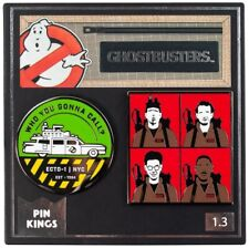 Ghostbusters Pin Kings - Who You Gonna Call? | Officially Licensed Badges
