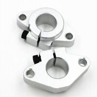 2 Pieces Shaft Holder Linear Bearing Guide Rod Rail Shaft Support SHF8-50