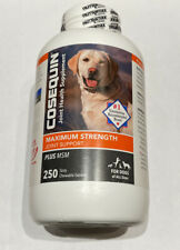 New listing New Cosequin Maximum Strength Plus Msm for Dogs All Sizes - 250 Count - 06/2024