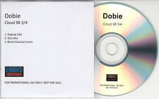 DOBIE Cloud 98 3/4 2014 UK 3-track promo test CD Black Classical Remix