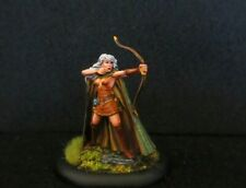 Dark Sword  Miniatures, Female Elven Archer (Metal) Painted D&D,Reaper