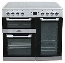 Leisure 90cm Electric Range Cooker CS90C530X in Stainless Steel 3 Ovens #1781