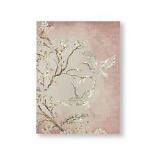Art for the Home Graceful Crances Glitter Printed Canvas