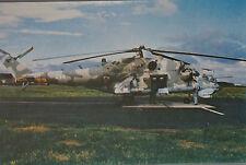 Robert Senkowski Mil Mi-24 Hind Polish Air Force Postcard