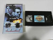HEAT VHS COLECCIONISTA EDICION ESPAÑOLA AL PACINO ROBERT DE NIRO VAL KILMER
