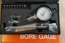 Mitutoyo Metric Complete Dial Bore Hole Gage Gauge Set 10 185mm 0001mm