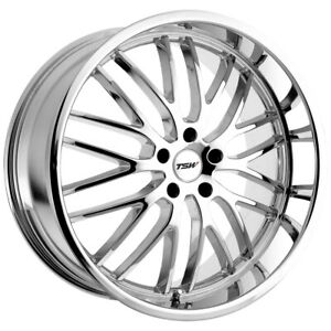 TSW Snetterton 19x8 5x100 +35mm Chrome Wheel Rim
