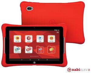 """Nabi Elev-8, 8"""" Screen 32GB Kids Tablet, Red, NBX208H00004US"""