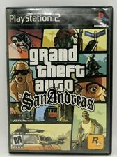 Grand Theft Auto Sanandreas -  PS2 Complete W/Manual Tested
