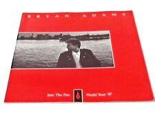 Bryan Adams Into The Fire World Tour '87 Concert Tour 28 Page Program. 1987.