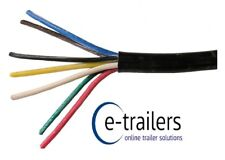 7 CORE TRAILER ELECTRICAL CABLE LIGHTING LIGHTBOARDS LED LIGHTS - PER METER