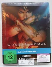 Wonder Woman Steelbook (exklusiv bei Amazon.de) [3D Blu-ray] [Limited Edition]