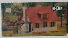 HELJAN 1781 - Wohnhaus + Kamin & Pergola - Spur H0 - Eisenbahn Bausatz - NEU&OVP