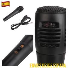 Micrófono Profesional Con Cable Karaoke Todo Uso Reproducción Excelente CALIDAD