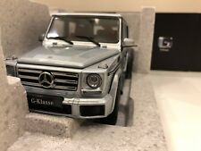 1:18 iScale Mercedes Benz G-Class Wagon 2015 diamond silver diecast No Autoart