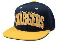 San Diego Chargers Block NFL Team Apparel Adjustable Snapback Football Cap Hat