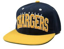 San Diego Chargers Block NFL Team Apparel Adjustable Snapback Football Cap Hat