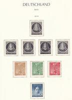 Berlin Sammlung 1952-90 postfrisch im Vordruckalbum (48-90), gesammelt 1952-90