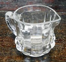 Vintage Post Cereals Measured Creamer - Glass Jug / Milk Jug 1920s Advertising