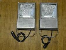 2 Stück EUROLITE Outdoor Spot 150W WFL silber/ grau inkl. 1x NEUEM Leuchtmittel