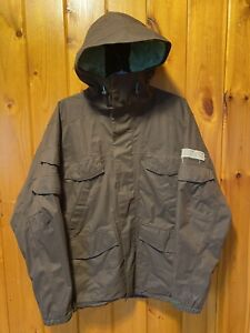 Burton Ronin La Cosa Nostra Men's Brown Snowboarding Jacket Size Small