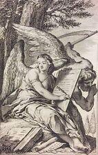Frontispice pour Casanova par Nicolas II Cochin 1744 graveur Jean DAULLÉ