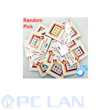 Random Mystery Pick 6 PCS Home Button Sticker for iPhone 3G/3GS/4/4S/5 for Boys