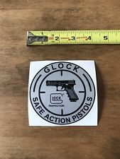 Glock OEM Original Safe Action PistolsSticker/ Decal  Gun Tactical AR AK Hunt 4""