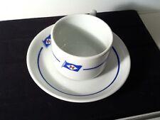 Rare Sigrud Herlofson Co Porsgrund Cup & Saucer by Christiania Glass
