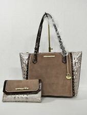 Brahmin Medium Asher Chardonnay Clermont Leather Tote/bag/purse N69 115540000412