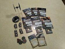 COMPLETE Tie Fighter Expansion 1.0 Star Wars X-Wing Miniatures Imperial FFG