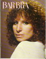 BARBRA STREISAND Quarterly Magazine Summer 1981 Vol 2 No 1