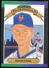 1989 Donruss Diamond Kings #9 David Cone New York Mets