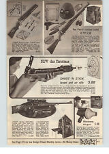 1969 PAPER AD Johnny Eagle Toy Guns Magumba Hunting Flying Targets Rat Patrol