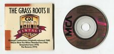 Vintage THE GRASS ROOTS II - 3-INCH cd-maxi ©1988 MCA 4-track TEMPTATION EYES
