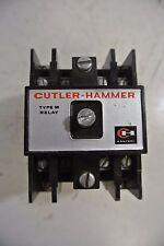 Cutler Hammer Type M Relay 120 Volt Coil
