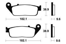 HONDA NC 750 S,X - Kit pastiglie freno anteriore - Bendix - 382001