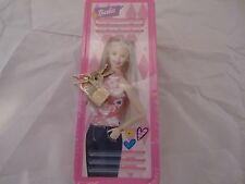 2001 Barbie Frankford Caramel Popcorn Metal Tin/Mini Case with Padlock & Keys
