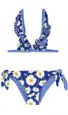 -40% MONNALISA Bimba Bikini Gr. 7Y/122~MARGHERITE blue~NEW~Sommer 2019~NP 87€