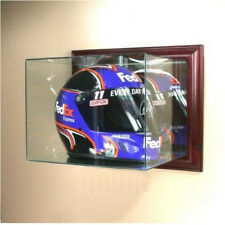 Wall Mounted NASCAR Helmet Display Case w/ Free Shipping