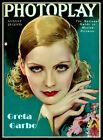 Greta Garbo Vintage Cover Art Canvas Print Fridge Magnet 6x8 Large