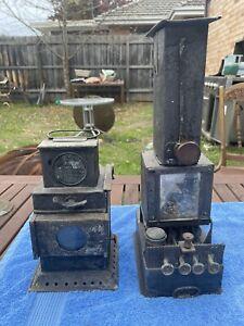 Antique Vintage Majic Lanterns