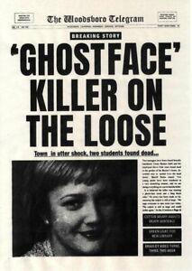 1996 Scream Woodsboro Telegram Ghostface Killer On The Loose > Casey Becker 🔪