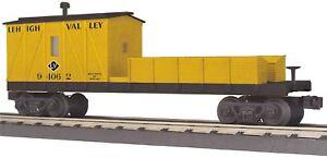 MTH RailKing 30-79441 Lehigh Valley Crane Tender Car 94062 O Gauge Trains