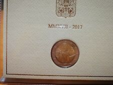 Cartera  2 euros Vaticano conmemorativa vaticano 2017