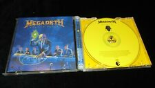 Megadeth ‎– Rust In Peace 2004 reissue CAPITOL ex/mint- CD thrash speed